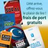 Offre d'été sans frais de port !